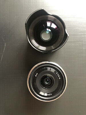 AU200 • Buy Sony E 16mm F2.8 Lens (SEL16F28) E-Mount With Ultra Wide Converter