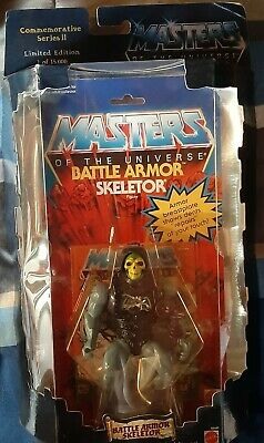 $95 • Buy Masters Of The Universe Commemorative Series Battle Armor Skeletor Figure