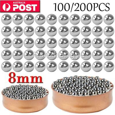 AU6.95 • Buy Steel Loose Bearing Ball Replacement Parts 8mm Bike Bicycle Cycling Stainles OZ