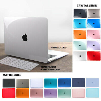AU16.95 • Buy Macbook Hard Shell Case + Keyboard Cover Air Pro 11  12  13  Pro 13  16  Inches
