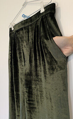 AU99 • Buy Scanlan Theodore Velvet Side Pockets  Pants Size 10/ US 6- Worn Once