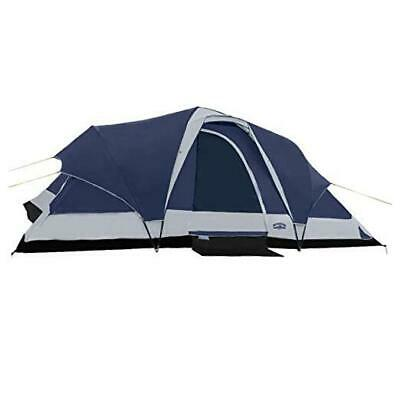 AU259.77 • Buy  Camping Tent 8 Person Family Dome Tent With Dividers Awning & Removable Rain