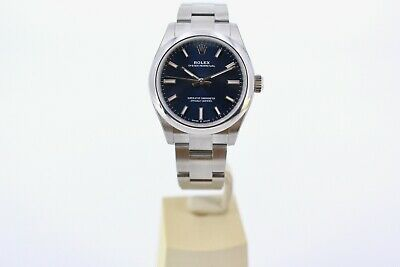 $ CDN9034.27 • Buy Rolex Oyster Perpetual 277200  Blue Dial 31mm 2020 Box And Papers