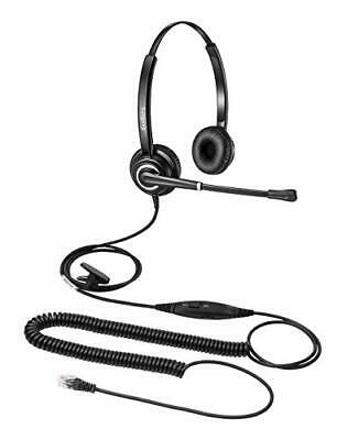 £38 • Buy Phone Headset With RJ9 For Call Centers Office Telephone With Mic Mute And Vo...