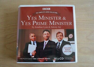 £34.56 • Buy Yes Minister & Yes Prime Minister / Audio Book On 20CDs BBC Comedy Series