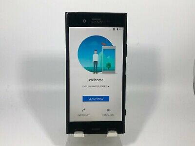 AU217.03 • Buy Sony Xperia XZ1 64GB Black Unlocked Good Condition