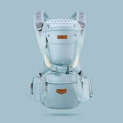 Sunveno Ergonomic Baby Carrier Sling With Detachable Hipseat NEW • 16£