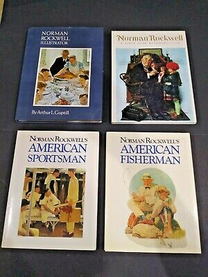 $ CDN4.98 • Buy Lot Of 4 Norman Rockwell Illustrated Books, All Hardcovers, See Complete List