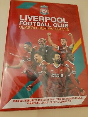New And Sealed Liverpool Football Club Season Review 2017/18 • 4£