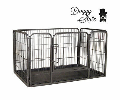 LGE Heavy Duty Puppy Play Pen Whelping Box / Dog Enclosure / Playpens HDPP04L • 41£