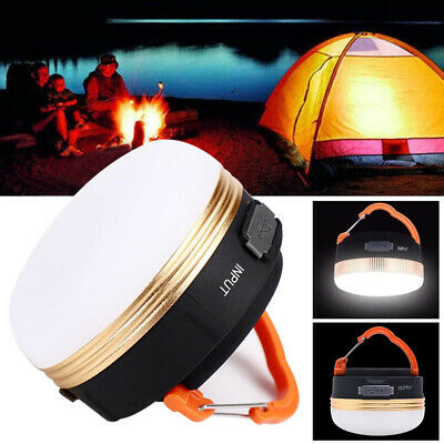 £13.90 • Buy 1-4X Bright Night Lamp USB Rechargeable LED Camping Light Tent Lantern Outdoor