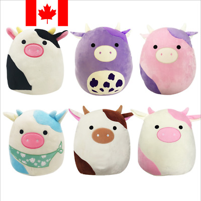 $ CDN22.68 • Buy Squishmallows Connor The Cow Plush Toy Cuddle Squeeze Super Soft Toys No Label