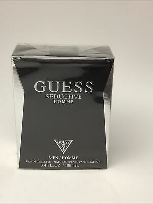 Guess Seductive Homme 100ml EDT - New, Sealed, Slightly Damaged Box As Shown • 17£