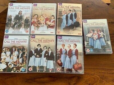 Call The Midwife Bundle: DVD Series 1 -6 & 2 Books • 30£