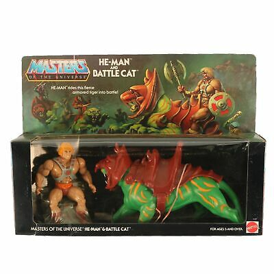 $9082.20 • Buy Vintage MotU / Masters Of The Universe - He-Man & Battle Cat - 8-Back MISB