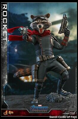 $ CDN217.60 • Buy 1/6 Hot Toys Marvel Avengers 4 EndGame Rocket Collectible Figure MMS548 In Stock