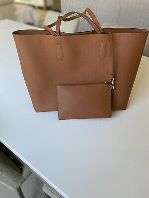 AU100 • Buy Oroton Tan Leather Tote Large Pre Owned  Great_Clothes_4u
