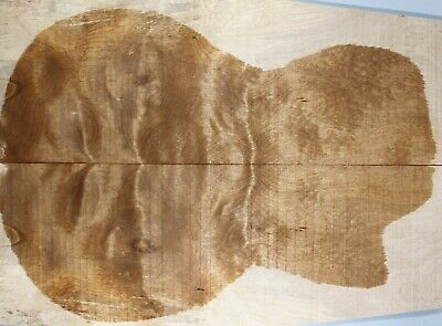 AU26.99 • Buy Ripple Maple Wood Electric Bass Bookmatch Drop Top Set Luthier 7608