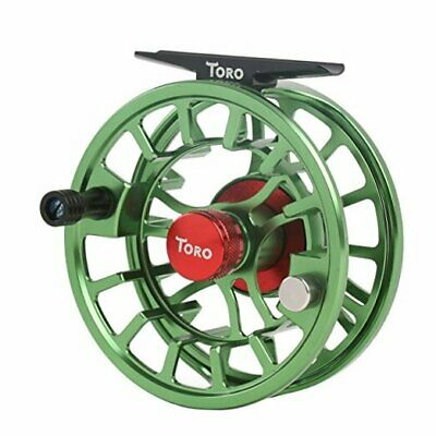 $ CDN115.94 • Buy  Toro Series Fly Fishing Reel With Large Arbor, CNC-Machined 5/6 Wt Green