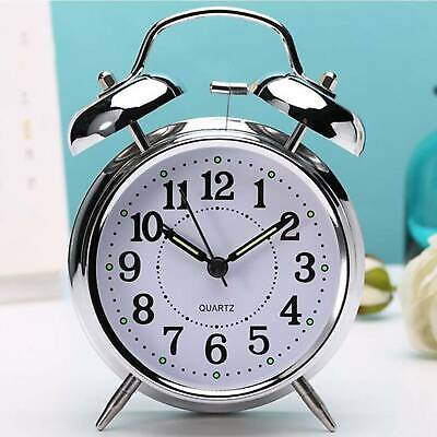 £7.99 • Buy NEW Retro Loud Double Bell Mechanical Wound Alarm Clock