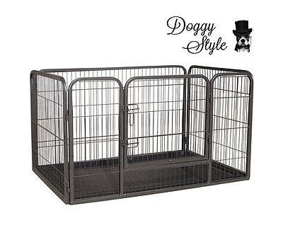 SMALL Heavy Duty Puppy Play Pen Whelping Box Dog Enclosure Playpens  A HDPP04S • 21£