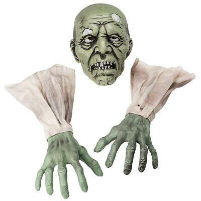 £13.02 • Buy Halloween Zombie Face Arms Scary Horror Skeleton Skull Head Hand Graveyard Props