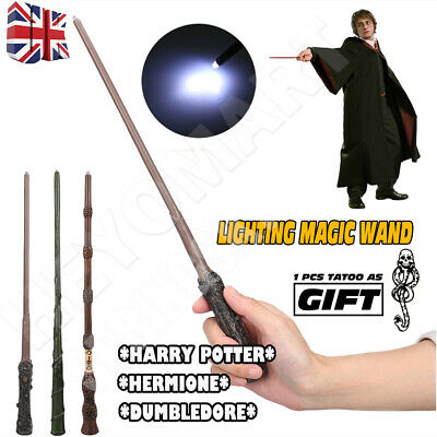 £8.16 • Buy Boxed Harry Potter Dumbledore Hermione Magic LED Light Wand Collection Cosplay