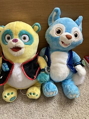 £45 • Buy Special Agent Oso And Wolfie Plush Toys