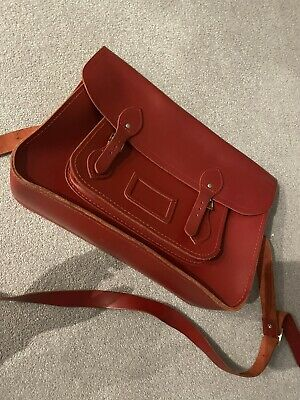 Cambridge Satchel Company Red Satchel Bag,New Without Tags • 15£