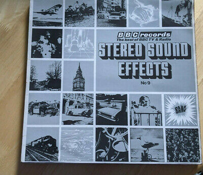 £6.50 • Buy BBC Sound Effects LP No 9 - Stereo Red 164S