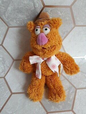 £8.99 • Buy Fozzie Bear Disney Store The Muppets Plush Soft Toy Teddy Collectable