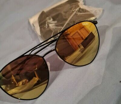 AU35.78 • Buy QUAY Australia Sunglasses. Brand New With Tags & Case - Style - Yellow Tint Bnwt