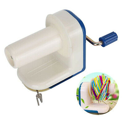 Yarn Fiber Wool Thread Winder String Ball Holder DIY Roll Knitting Machines • 19.15£