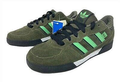 AU25.75 • Buy Adidas Originals Sneakers SILAS Women's US 8.5 Shoes Black Green White G21750