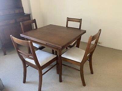AU50 • Buy Antique Furniture Dining Table And Chairs