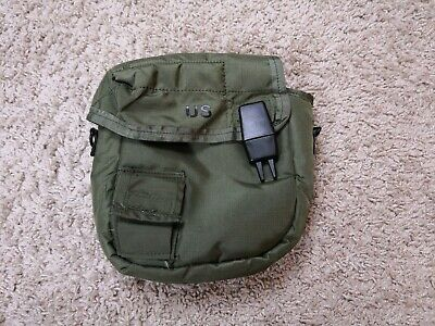 $ CDN35.36 • Buy Unicor 2 QT Collapsible RARE Water Canteen Green Cover Pouch Sling US Army