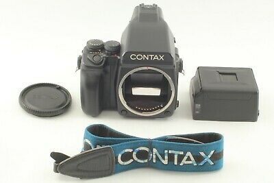 $ CDN2817.42 • Buy 【TOP MINT W/Strap】 CONTAX 645 + AE Finder + MFB-1A MFB-1 120/220 Back From JAPAN
