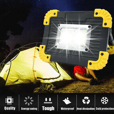 AU15.39 • Buy Portable Rechargeable LED Hiking Camping Tent Lantern Light USB Lamp Outdoor