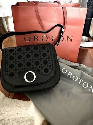 AU190 • Buy Oroton Safari Satchel Leather Hand Bag