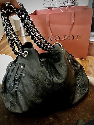 AU130 • Buy Oroton Leather Handbag Hobo Bag