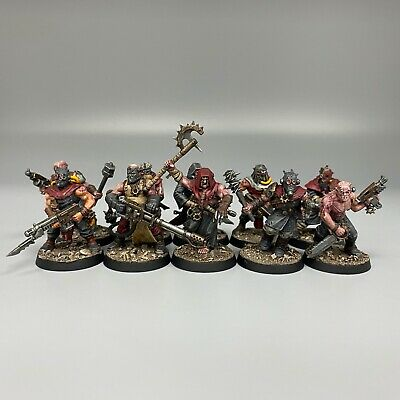 £79.99 • Buy Dark Vengeance World Eaters Cultists Kill Team Warhammer 40,000 Chaos Painted