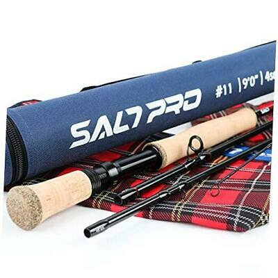 $ CDN166.66 • Buy  Maxcatch Saltwater Fly Fishing Rod 9ft 8/9/10wt Graphite IM10 Fast 9ft 9wt