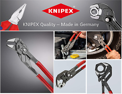 £47.49 • Buy Knipex 250mm Lock Button Wrench Spanner Waterpump Pliers Grips SPARKS  86 01 250