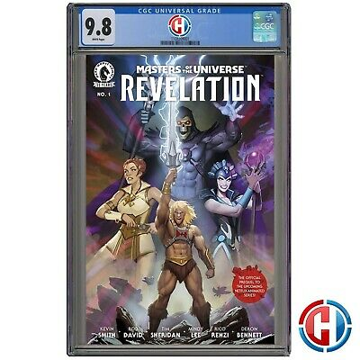 $44.99 • Buy MASTERS OF THE UNIVERSE REVELATION #1 CGC Graded 9.8 PRESALE 7/7/21