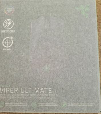 AU154.55 • Buy Razer  Viper Ultimate Wireless Optical Gaming Mouse