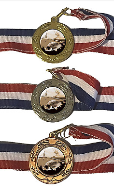 £2.99 • Buy Coarse Fishing 40 Mm Emperor Sports Medal Optional Engraving