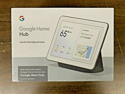 AU87.51 • Buy Google Home Hub With Google Assistant - GA00515-US (New Sealed)  Free Shipping