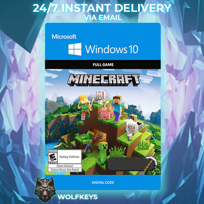 $ CDN25.63 • Buy Minecraft Windows 10 Edition CD KEY Digital Key  - GLOBAL DOWNLOAD