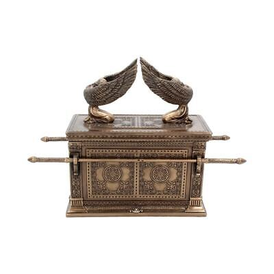 £59.99 • Buy ARK OF THE COVENANT 28cm -  Bronzed With Winged Cherrubs Gothic Gift - FREE P+P