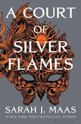 $20.83 • Buy A Court Of Silver Flames By Sarah J. Maas: Used